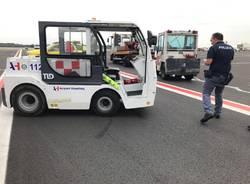 Incidente piazzale Malpensa 20 settembre 2019