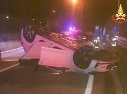 Incidente stradale comerio