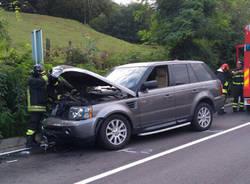 Lavena Ponte Tresa - Incidente stradale 11 settembre 2019