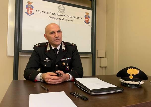 maggiore alfonso falcucci comandante carabinieri legnano