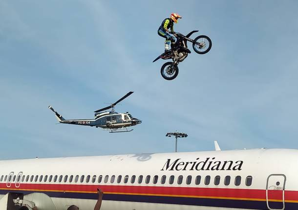 Motocross Acrobatico a Volandia