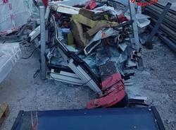 Milano: cade una gru dalla Torre Libeskind