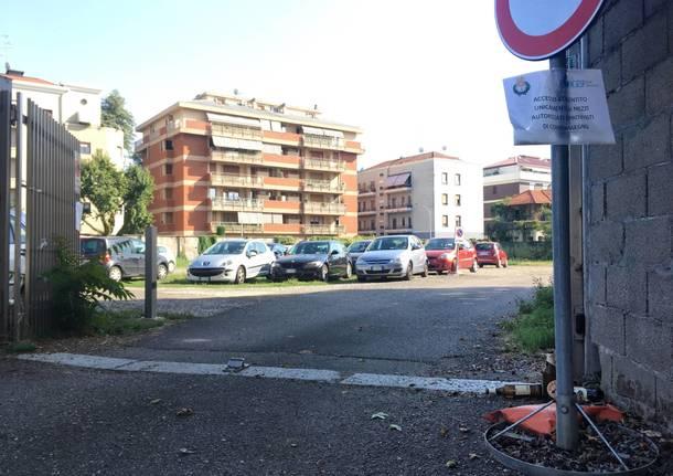 parcheggio comunale via biancardi busto arsizio