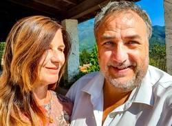 """Pierre """"Yama"""" Ley e Nicoletta Ferlito"""