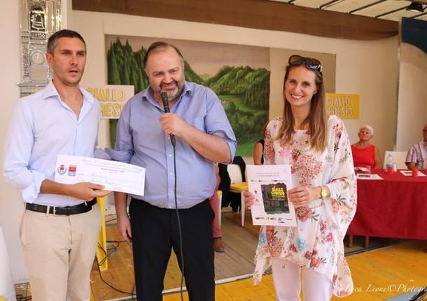 Porto Ceresio: la premiazione del concorso Giallo Ceresio 2019