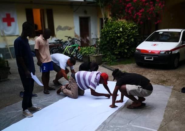 richiedenti asilo croce rossa medio verbano