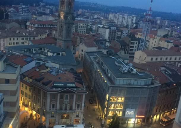 Sulla Torre Civica con la Pro Loco