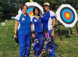 tiro con l'arco arcieri tre torri squadra master compound femminile 2019
