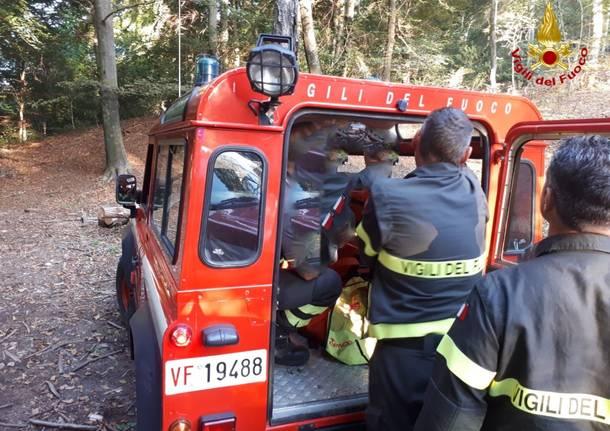 vigili del fuoco ritrovamento cadavere