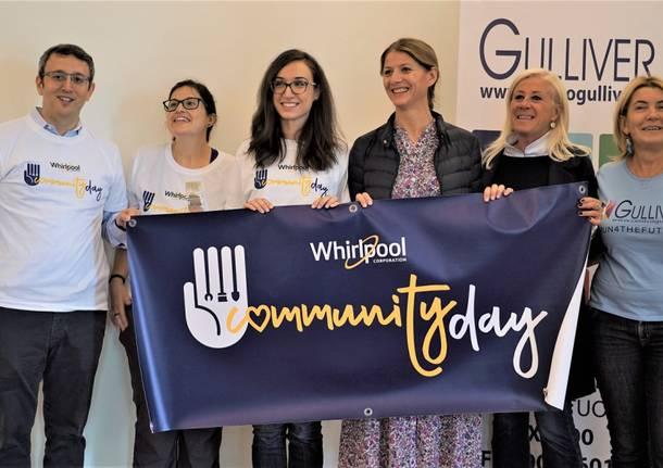 Volontariato al Whirlpool community Day