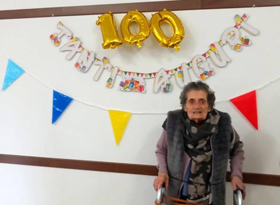 100 anni Iolanda Simionato