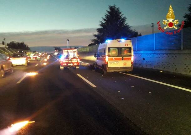 a8 mortale all alba castellanza incidente  3