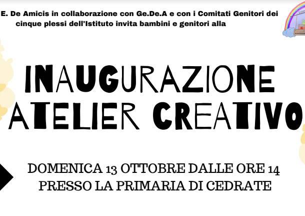 atelier creativo scuola De Amicis