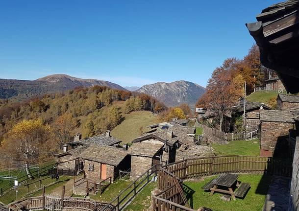 Autunno a Curiglia con Monteviasco