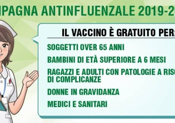 campagna antinfluenzale regione lombardia 2019 2020