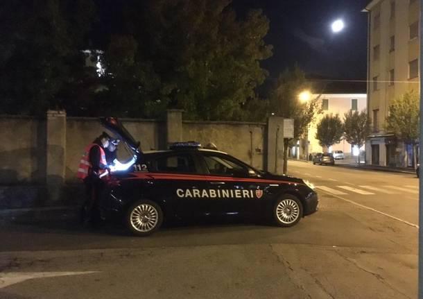 carabinieri di luino notturna