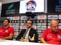 Conferenza stampa Banco Bpm Sport Management