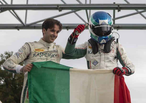 Rovera e De Castro campioni nel tricolore Gran Turismo