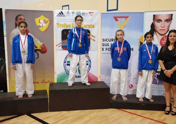 A Suzzara medaglia di bronzo per la Saronnese Alessandra Bossi