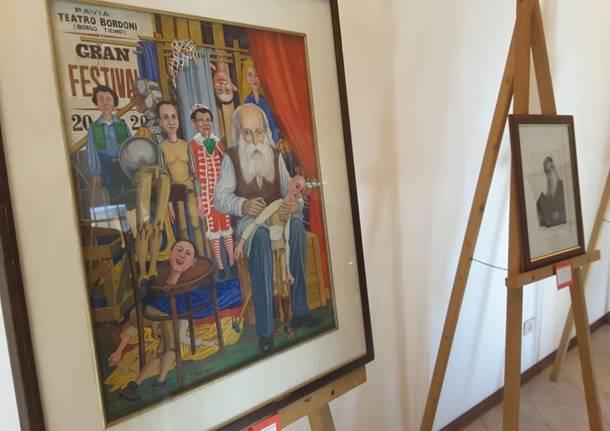 A Marnate mostra dedicata a Pietro Bordoni . Umorista e pittore.