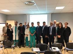 chirurghi cinesi in visita all'ospedale di Varese