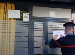 chiusura locale carabinieri