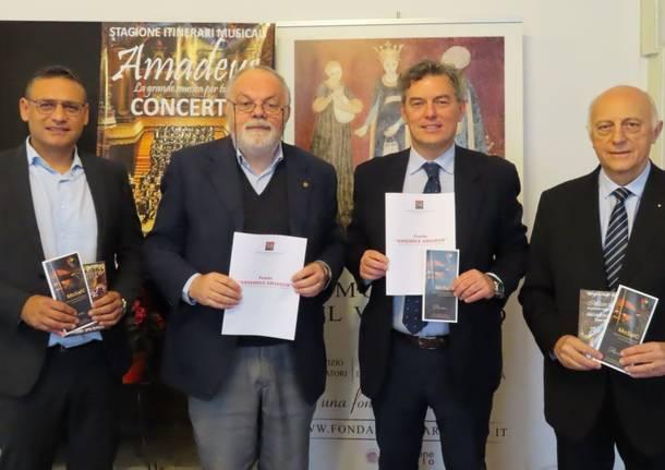 """costituzione fondo con L'Associazione """"Ensemble Amadeus"""""""