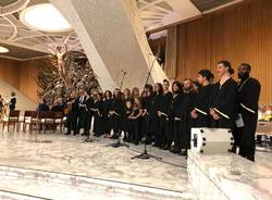 I Greensleves cantano per Papa Francesco