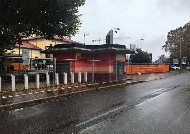 I lavori delle stazioni cominciano in via Milano