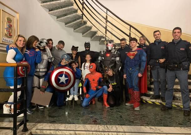 """I """"supereroi"""" ringraziano la Polizia di Varese"""