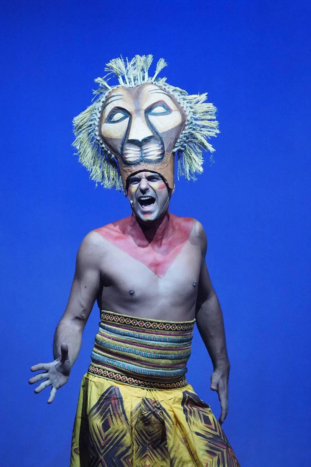 Il Re Leone a teatro