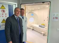 Inaugurazione nuova risonanza magnetica all'ospedale di Saronno