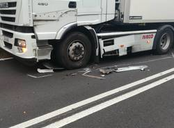 Incidente raccordo autostradale varese - foto di oscar ferrera