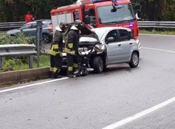 Incidente sulla strada statale 233