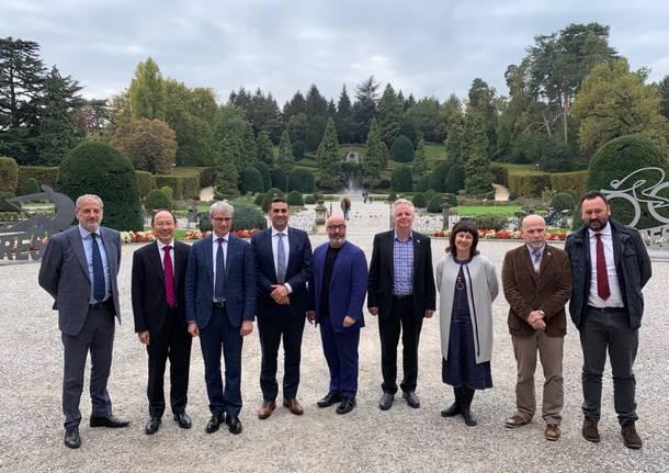 Incontro australiani sindaco stadio Varese ottobre 2019