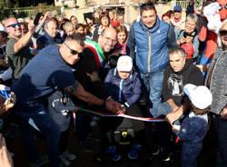 Induno Olona - Inaugurazione parco giochi inclusivo