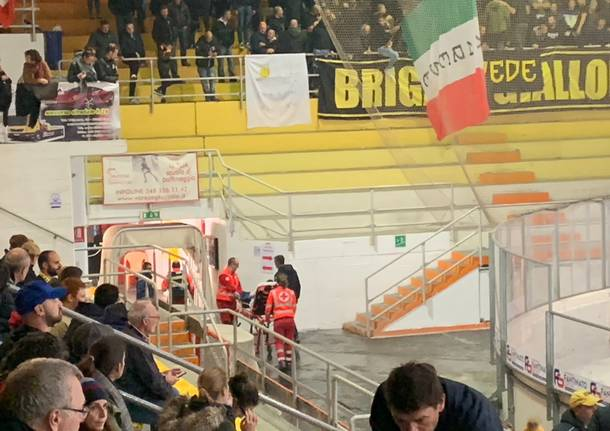 Infortunio Grisi hockey