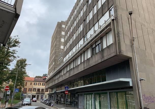 L'ex hotel Cristal a Varese