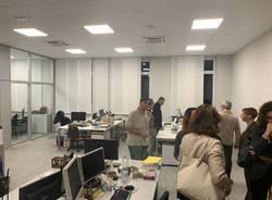 """Modernità e innovazione, inaugurato """"Office Station"""" nella Ex Lesa"""