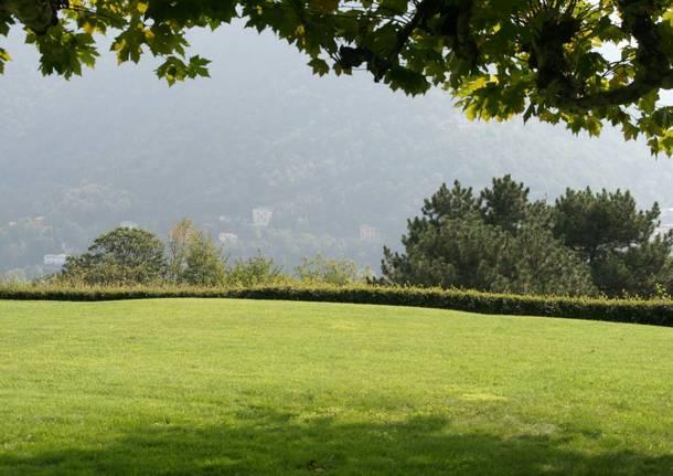 Paesaggio realizzati da Pietro Porcinai: villa Ratti (foto di Giuliana Gatti)