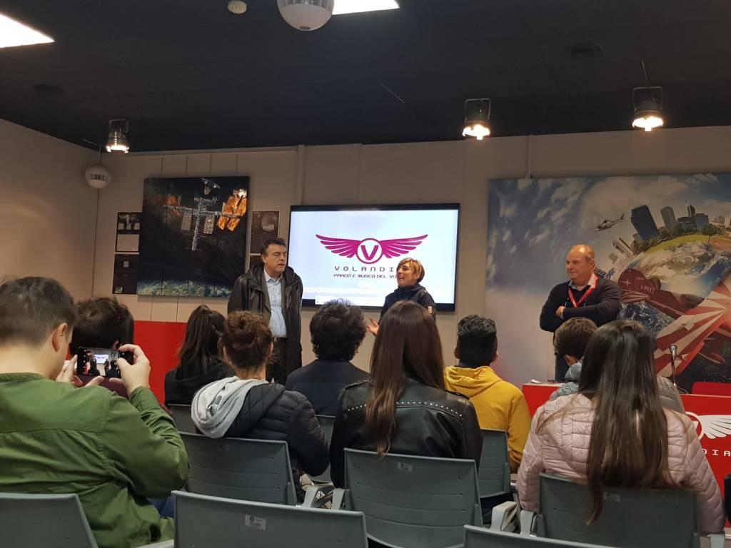 Rethinking talent: gita premio a Volandia per 20 studenti
