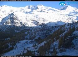 Risveglio con la neve in montagna 16 ottobre 2019