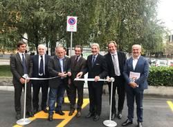 Saronno, inaugurazione delle colonnine per la ricarica elettrica