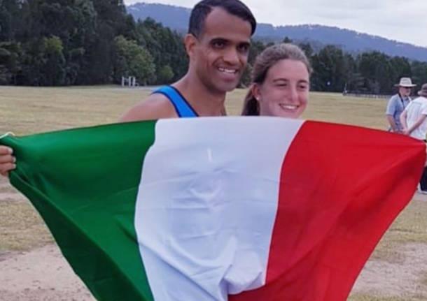 serena giorgetti ahmed hmoudi inas global games 2019 canottaggio canottieri gavirate