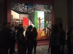 Studenti del Cairoli ciceroni alla mostra di Guttuso