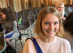 Studenti Erasmus in salone Estense