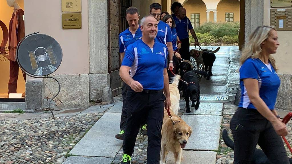 Varese - Cani in passerella per Linea verde Life