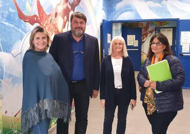Visita del Garante dell'Infanzia all'ospedale Del Ponte