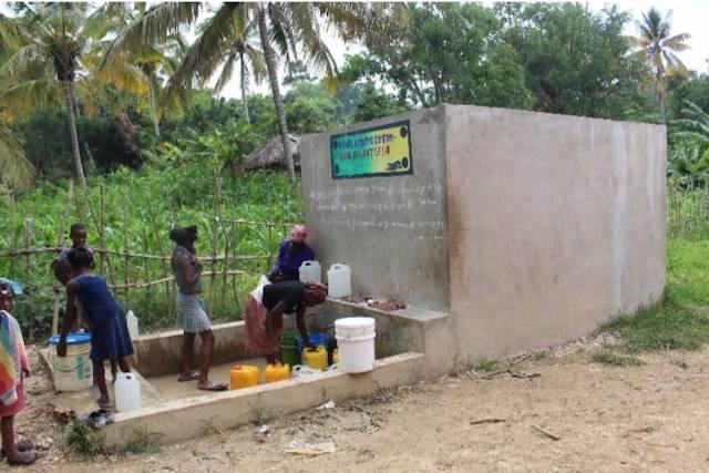 Acquedotto da potenziare ad Haiti