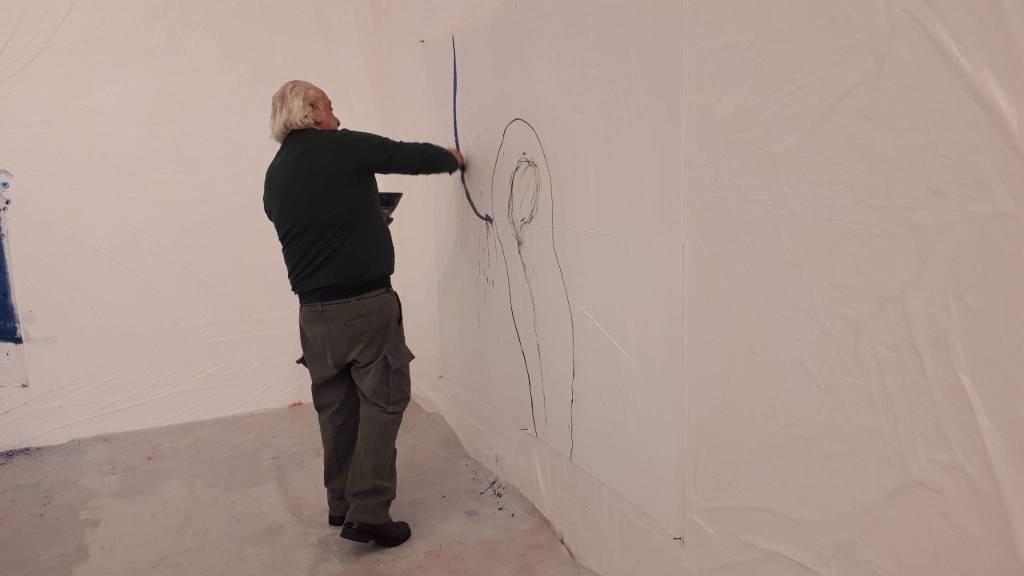 Arcangelo Live Painting